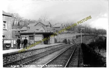 Abersychan Low Level Railway Station Photo. Pontypool - Cwmavon. (1)