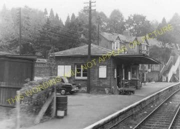 Abersychan Low Level Railway Station Photo. Pontypool - Cwmavon. (3).