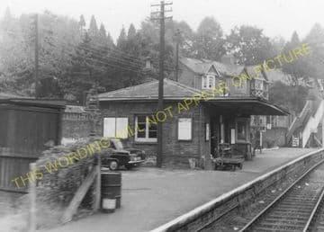 Abersychan Low Level Railway Station Photo. Pontypool - Cwmavon. (3).