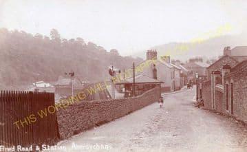 Abersychan Low Level Railway Station Photo. Pontypool - Cwmavon. (4).