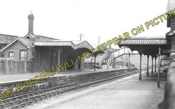 Abersychan & Talywain Railway Station Photo. Varteg - Pontypool. GWR & LNWR. (1)