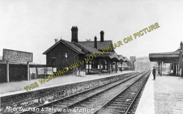 Abersychan & Talywain Railway Station Photo. Varteg - Pontypool. GWR & LNWR. (2)