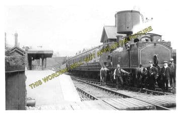 Abersychan & Talywain Railway Station Photo. Varteg - Pontypool. GWR & LNWR. (3)