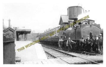 Abersychan & Talywain Railway Station Photo. Varteg - Pontypool. GWR & LNWR. (3)