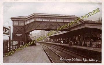 Abertillery Railway Station Photo. Aberbeeg - Blaina. Nantyglo Line. (2)