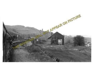 Abertridwr Railway Station Photo. Caerphilly - Senghenydd. Rhymney Railway. (2)