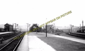 Aberystwyth Railway Station Photo. Cambrian Railway. (10)..