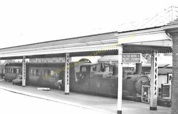 Abingdon Railway Station Photo. Radley Line. Great Western Railway. (11)