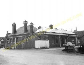 Abingdon Railway Station Photo. Radley Line. Great Western Railway. (14)