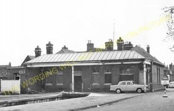 Abingdon Railway Station Photo. Radley Line. Great Western Railway. (15)