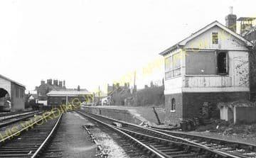 Abingdon Railway Station Photo. Radley Line. Great Western Railway. (17)