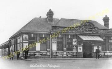 Abingdon Railway Station Photo. Radley Line. Great Western Railway. (20)