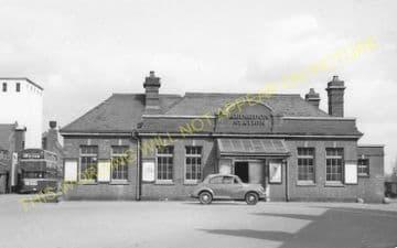 Abingdon Railway Station Photo. Radley Line. Great Western Railway. (21)