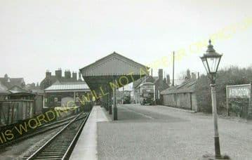 Abingdon Railway Station Photo. Radley Line. Great Western Railway. (24)