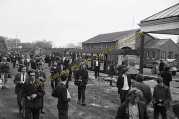 Abingdon Railway Station Photo. Radley Line. Great Western Railway. (8)