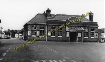 Abingdon Railway Station Photo. Radley Line. Great Western Railway. (9)