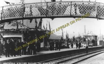 Abington Railway Station Photo. Lamington - Crawford. Symington to Elvanfoot (1)..