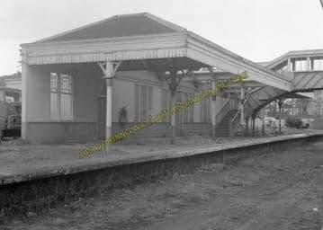 Aboyne Railway Station Photo. Dess - Dinnett. Lumphanan to Ballater Line. (12)