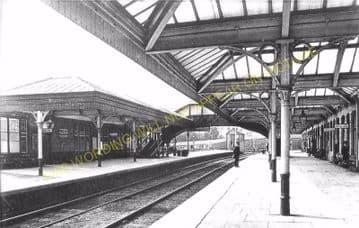 Aboyne Railway Station Photo. Dess - Dinnett. Lumphanan to Ballater Line. (18)
