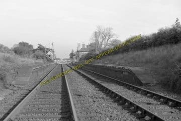 Aby Railway Station Photo. Alford - Authorpe. Willoughby to Louth. GNR (4)