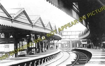 Accrington Railway Station Photo. Burnley to Blackburn and Stubbins Lines. (2)