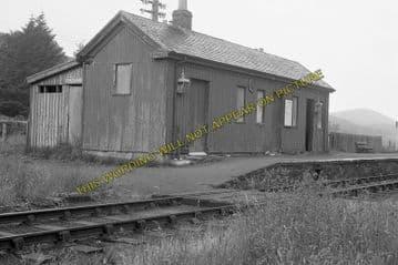 Achanalt Railway Station Photo. Achnasheen - Lochluichart. Highland Railway (1)