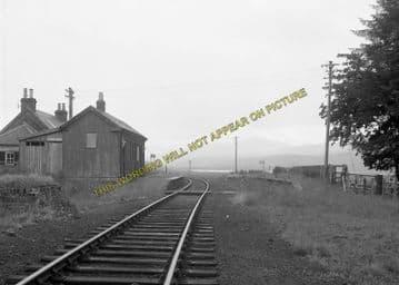 Achanalt Railway Station Photo. Achnasheen - Lochluichart. Highland Railway (4)