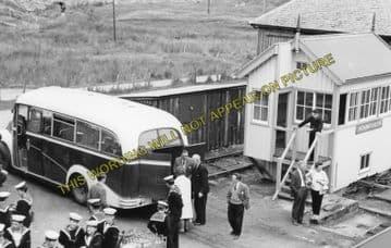 Achnasheen Railway Station Photo. Glencarron - Achanalt. Dingwall Line.  (3)