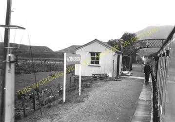 Achnasheen Railway Station Photo. Glencarron - Achanalt. Dingwall Line.  (4)