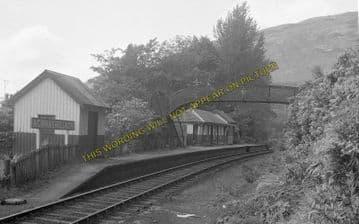Achnashellach Railway Station Photo. Strathcarron - Achnasheen. Highland (6)