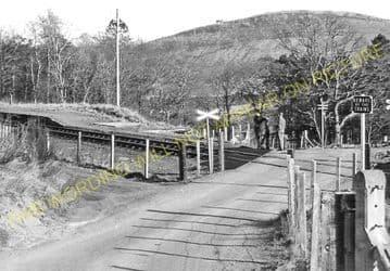 Achterneed Railway Station Photo. Dingwall - Garve. Highland Railway. (2)