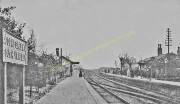 Acocks Green Railway Station Photo. Olton - Tyseley. Solihull to Birmingham. (9)
