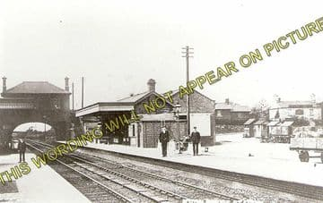 Acton Bridge Railway Station Photo. Hartford - Sutton Weaver. Runcorn Line. (1)..