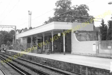 Acton Central Railway Station Photo. Willesden - Kew. North & South Western. (7)