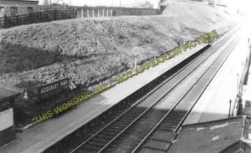 Adderley Park Railway Station Photo. Birmingham - Stechford. L&NWR. (1)..