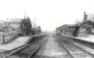 Adlestrop Railway Station Photo. Kingham - Moreton-in-Marsh. (15)