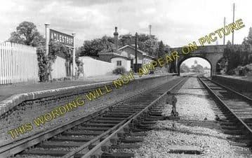 Adlestrop Railway Station Photo. Kingham - Moreton-in-Marsh. (2)