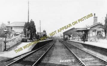 Adlestrop Railway Station Photo. Kingham - Moreton-in-Marsh. (8)