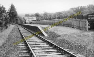 Advie Railway Station Photo. Cromdale - Ballindalloch. Grantown to Carron. (3)