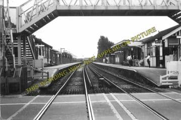 Ainsdale Railway Station Photo. Birkdale - Freshfield. Southport to Formby. (5)