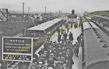 Aintree Railway Station Photo. Liverpool - Maghull. Lancashire & Yorkshire. (10)