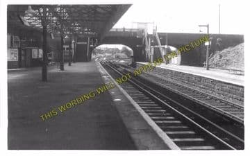 Aintree Railway Station Photo. Liverpool - Maghull. Lancashire & Yorkshire. (2)