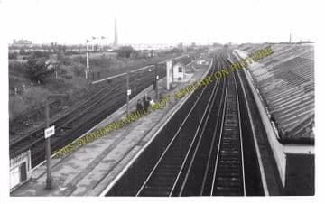 Aintree Railway Station Photo. Liverpool - Maghull. Lancashire & Yorkshire. (4)