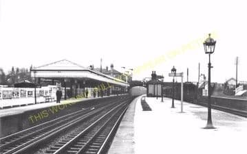 Aintree Railway Station Photo. Liverpool - Maghull. Lancashire & Yorkshire. (8)