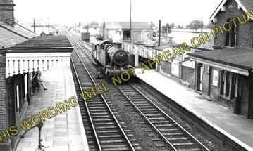 Albrighton Railway Station Photo. Codsall - Shifnal. Wellington Line. (3)