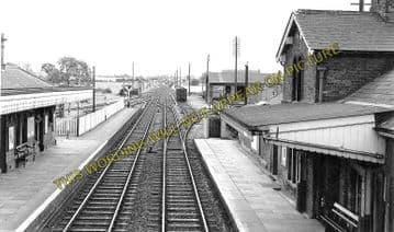Albrighton Railway Station Photo. Codsall - Shifnal. Wellington Line. (4)