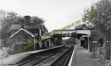 Albrighton Railway Station Photo. Codsall - Shifnal. Wellington Line. (6)