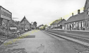 Alcester Railway Station Photo.Wixford to Coughton and Great Alne Lines. (7)