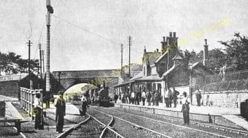 Alderley Edge Railway Station Photo. Chelford - Wilmslow. Sandbach Line. (6)