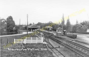 Aldermaston Railway Station Photo. Theale - Midgham. Reading to Newbury. (15)